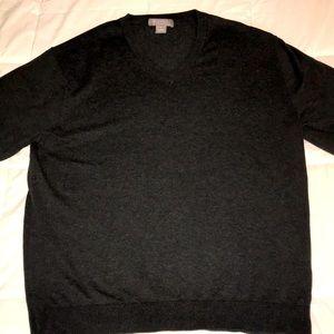 Daniel CREMIEUX Cotton Sweater V-Neck SIZE L